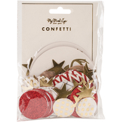 Holiday Double-Sided Confetti 100/Pkg