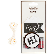 Plaid Tags 12/Pkg