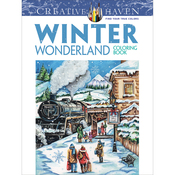 Creative Haven: Winter Wonderland - Dover Publications