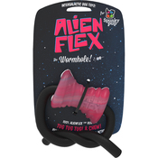 Wormhole - Spunky Pup Alien Flex Candy Scented Rubber Toy