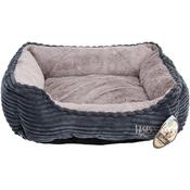 """Blue - Corduroy Cuddler Bed 21""""X17"""""""