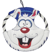 Rabbit - Durables Happy Tails Loonies Disk