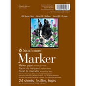 """50# Smooth - Strathmore Marker Paper Pad 6""""X8"""""""