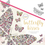 "Butterfly Kisses - KaiserColour Perfect Bound Coloring Book 9.75""X9.75"""