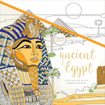 "Ancient Egypt - KaiserColour Perfect Bound Coloring Book 9.75""X9.75"""