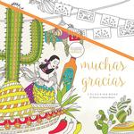 """Muchas Gracias - KaiserColour Perfect Bound Coloring Book 9.75""""X9.75"""""""