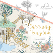 "Faraway Kingdom - KaiserColour Perfect Bound Coloring Book 9.75""X9.75"""