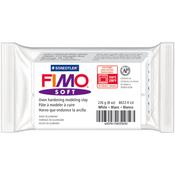 White - FIMO Soft Oven-Bake Clay 8oz