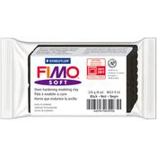 Black - FIMO Soft Oven-Bake Clay 8oz