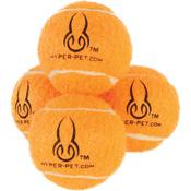 Orange - Hyper Pet Squeaking Mini Tennis Balls 4/Pkg