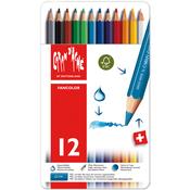 Caran d'Ache Fancolor Water Soluble Pencils 12/Pkg