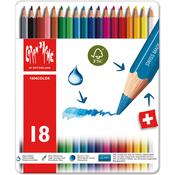 Caran d'Ache Fancolor Water Soluble Pencils 18/Pkg