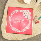 """Wishes On Wings/Fabulous Frames - Hunkydory Stylish Silhouettes 6""""X6"""""""