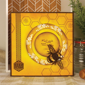 """Wishes On Wings/Beautiful Borders - Hunkydory Stylish Silhouettes 6""""X6"""""""
