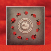"""Wishes On Wings/Sentiments & Wishes - Hunkydory Stylish Silhouettes 6""""X6"""""""