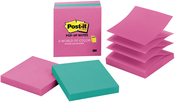 "Jaiper Collection - Post-It Pop-Up Note Refills 3""X3"" 3/Pkg"