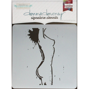 "Femme - Donna Downey Signature Stencils 8.5""X8.5"""