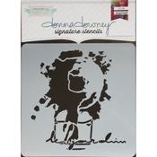 "Le Jardin - Donna Downey Signature Stencils 8.5""X8.5"""