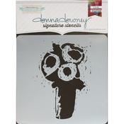 """Trio - Donna Downey Signature Stencils 8.5""""X8.5"""""""