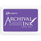 Majestic Violet - Archival Ink Pad #0