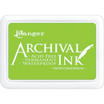 Vivid Chartreuse - Archival Ink Pad #0