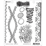 "Anatomy Of A Page - Dyan Reaveley's Dylusions Cling Stamp Collections 8.5""X7"""
