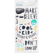 Boys Puffy Thickers - Cool Kid - Crate Paper