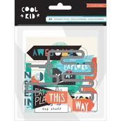 Ephemera Pack - Cool Kid - Crate Paper