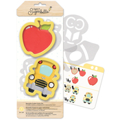 Back To School - Sweet Sugarbelle Specialty Cookie Cutter Set 7/Pkg