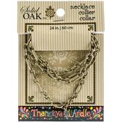 Oval/Round - Thaneeya(R) LLC Metal Link Necklace 1/Pkg