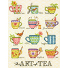 "9""X12"" 14 Count - The Art Of Tea Counted Cross Stitch Kit"