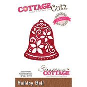 "Holiday Bell, 1.9'x2.3"" - CottageCutz Elites Die"