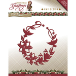 Christmas Greetings Ornament - Find It Trading Amy Design Christmas Greetings Die