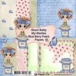 "Blueberry Patch - My Besties Single-Sided Paper 6""X6"" 8/Pkg"