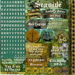 Buccaneer Bay Alpha Sticker Sheet - Reminisce