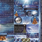 Christmas Eve Sticker Sheet - Reminisce