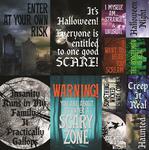 Eerie Night Sticker Sheet - Reminice