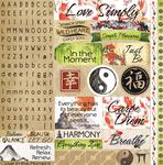 Everything Zen Sticker Sheet - Reminisce
