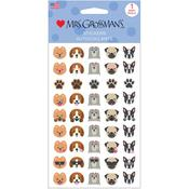 Dog Emotions Stickers - Mrs Grossman