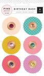 Birthday Bash Adhesive Delights - Pink Paislee
