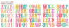 Birthday Bash Chipboard Stickers - Pink Paislee