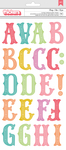 Birthday Bash Chipboard Stickers - Pink Paislee