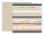 Birthday Bash Paper 2 - Pink Paislee