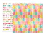 Birthday Bash Paper 4 - Pink Paislee