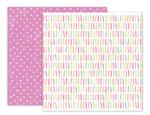 Birthday Bash Paper 7 - Pink Paislee