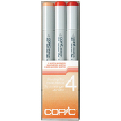 Set 4 - Copic Sketch Blending Trio Markers 3/Pkg
