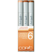 Set 6 - Copic Sketch Blending Trio Markers 3/Pkg