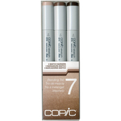 Set 7 - Copic Sketch Blending Trio Markers 3/Pkg
