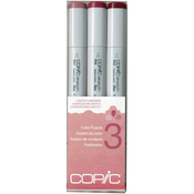 Set 3 - Copic Sketch Color Fusion Markers 3/Pkg