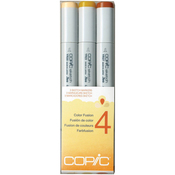 Set 4 - Copic Sketch Color Fusion Markers 3/Pkg